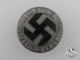 A 1934 NSDAP Krefeld District Party Day Badge