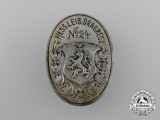 A Commemorative Badge for the Großherzogliche Hessische Leib-Dragoner Regiment 24