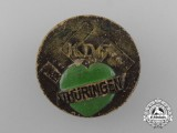 A Third Reich Period Thüringen Strength Through Joy Badge