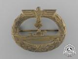 A Kriegsmarine Submarine War Badge by Friedrich Orth