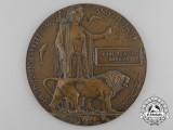 A Memorial Plaque to Major John Lawson Kinnear, D.S.O., M.C., Royal Flying Corps