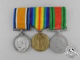A First War Grouping to Air Mechanic 2nd Class Horace Harvey Read; Royal Air Force