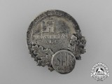 "A 1938 Linz ""We Thank our Führer - Our Homeland is Free"" Badge"