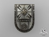 A 1935 Werther 1st District Gymnastics Festival Badge