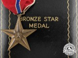 An American Bronze Star with Case