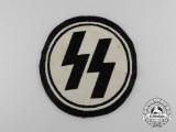 A Uniform removed Allgemeine/Waffen-SS Sport Shirt Insignia