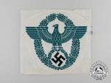 A Large German Polizei/Gendarmerie Sport Shirt Eagle Insignia