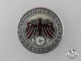 A 1939 Tirol Landesschiessen Silver Grade Shooting Award Medal