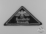 A Third Reich Kemnath District Office Insignia Patch