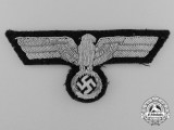 A Fine German Wehrmacht Heer (Army) Officer's Breast Eagle