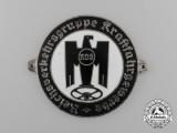 A German National Motor Vehicle Association Driver's Union Plaque