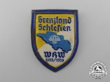 A 1938/1939 Borderland Schlesien Badge
