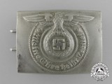 An Early SS Enlisted Man's Belt buckle by Overhoff and Cie