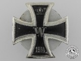 A Non-magnetic Iron Cross First Class 1914; Private Purchase Screwback