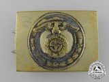 An SA (Sturmabteilung) Enlisted Man's Belt Buckle