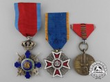 Three Romanian Orders, Decorations, and Awards