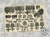 A First War Medals & Decorations Product Page from Manufacture M. Fleck & Son, Hamburg