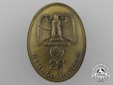 A Fine Quality Reichsnährstand 25-Year Membership Badge