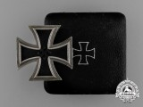 An Iron Cross 1939 First Class by Rudolf Wachtler & Lange in its Original Case of Issue