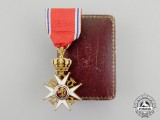 Norway. An Order of St. Olaf, Knight, Type II in Gold (1905-1937)