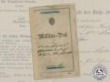 An Early Prussian 2nd Garde Ulanen (Guards Uhlan) Regiment Passport
