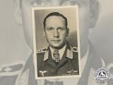 A Wartime Picture Postcard of Luftwaffe Ace & KC Winner Oberfeldwebel Ohlrogge