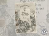 A Rare 1940 Operation Büffel (Narvik) Award Document