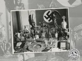 A Wartime Photo of a Selection Sports Trophy Collection