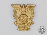 A 1933 Wiesbaden National Socialist Exhibition Badge