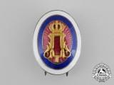 A First War Period Serbian Officer's Cap Badge