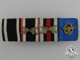A German Campaign & Police Service Ribbon Bar