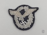 A Fine German Luftwaffe Officer's Pilot's Badge; Bullion Version