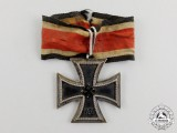 A Battle Worn Iron Cross 1939 Second Class Field Converted to a Knight's Cross