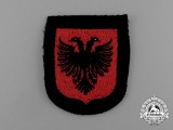 A Mint Albanian Waffen-SS Volunteer Service Sleeve Insignia