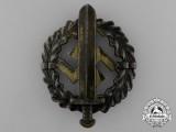 A Bronze Grade SA Sports Badge by Fechler of Bernsbach