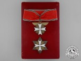An Early Order of the German Eagle by Deschler; Second Class Set