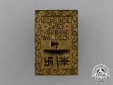 A Waldeck Regional Community Purpose League Badge