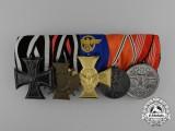 A First War & Third Reich Olympic Medal Bar