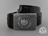 A Wehrmacht Heer (Army) Belt with Buckle