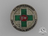 A German Mountain Watch Rescue Service  Badge