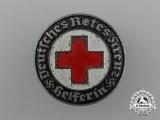 A DRK German Red Cross Helper's Staff Badge