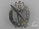 A Silver Grade Infantry Assault Badge by Richard Simm & Söhne of Gablonz