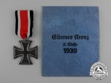 An Iron Cross 1939 Second Class by Klein & Quenzer A.G. in its Original Packet of Issue