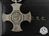 A 1944 GVI Distinguished Service Cross