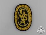 A Scarce GMSA (German Mine Sweeping Administration) Sleeve Patch