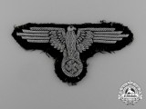An Early SS Officer's Sleeve Eagle; Tunic Removed