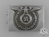 A Waffen-SS EM/NCO's Belt Buckle by Overhoff & Cie of Lüdenscheid
