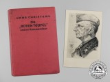 """A Copy of """"The 'Red Devils' and their Commander"""" Signed by Author Hans Christern"""