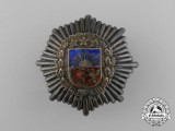 A Second War Latvian Army Staff Breast Badge
