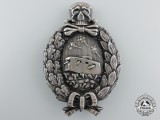 A Very Rare First War German Tank Crew Badge